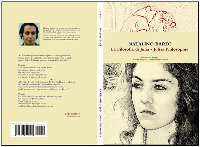 "Book cover of ""La Filosofia di Julia"""